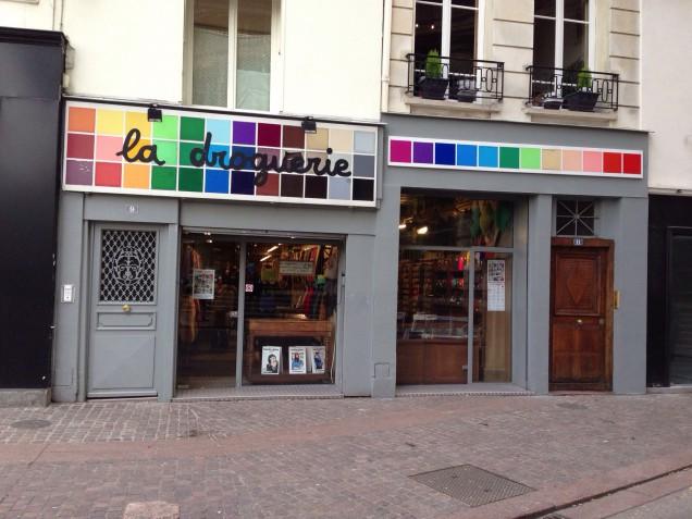 私も行きたい~~~~!!!!パリのラ・ドログリー!!!!
