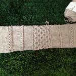コットンニィートSでアランなサマーセーターを編み始めました(=^ェ^=)