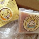ハチミツの手作り石鹸に感動〜〜^o^♫