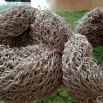 糸島ドライブと。編みかけのコットンニィートSのセーターはカセに戻しちゃった件(=^x^=)。