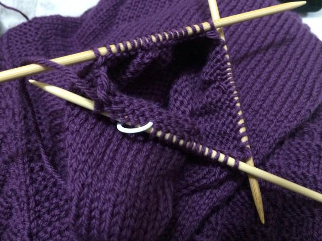 久しぶりに使う4本竹針です。。。♪
