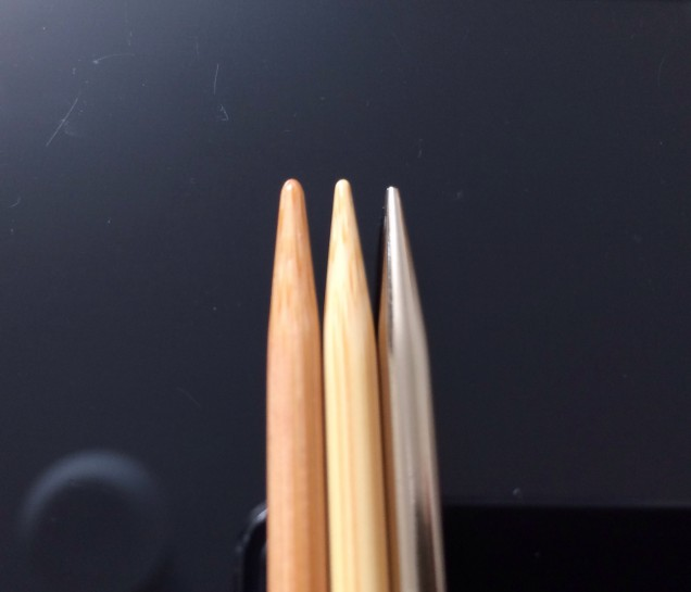 手持ちの針7号で比較。。 ノバメタル。 キャリーCロング。 匠の順です。 鋭利なのはダントツにノバメラルですね。