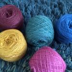 バカ買いしてしまったmalabrigo laceで編みたいもの(^o^)♫