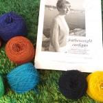 春先に着たい♡featherweight cardiganを編み始めました(≧∇≦)♫
