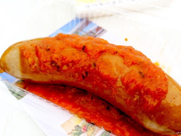 トマトの甘みもフランクの食べ応えもガッツリと美味しかったです!