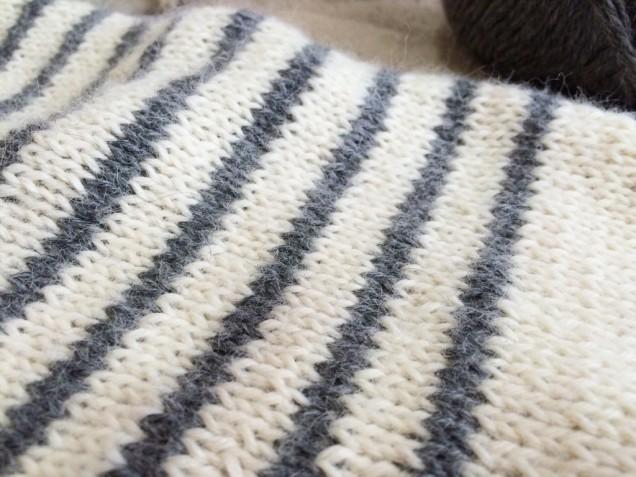 ふわりとした編み地デス♩