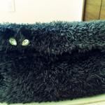 Savonでクラッチバッグを編みました。