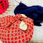 大物を編むときのお供。