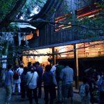 櫻井神社の岩戸開き祭とカレントのモーニング。