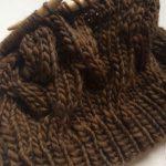 Malabrigo Worstedでベレー帽を編む。