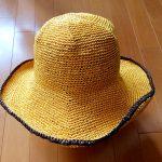 サイチカさんのデザインの帽子が編み上がりました★