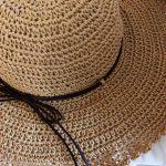 リビング福岡 ハンドメイド&こだわり品フェアに向けての今年の新作春夏帽子。